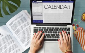 Calendar Date Organizer Planner Concept